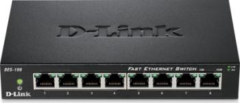 Switch D-Link DES-108 8 porturi Fast Ethernet Switch uri