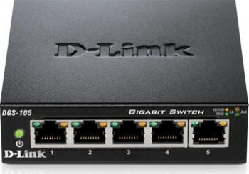 Switch D-Link DGS-105 5 porturi Gigabit Switch uri