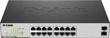 Switch D-Link DGS-1100-18 16 Porturi Gigabit + 2 Porturi SFP Switch uri