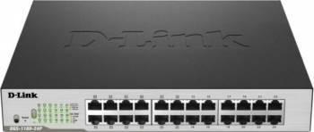 Switch D-Link DGS-1100-24P 24 porturi Gigabit PoE Switch-uri