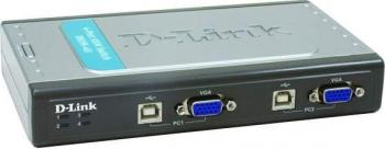 Switch DLink 4 porturi DKVM-4U