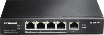 Switch Edimax 5 Porturi Fast Ethernet PoE ES-5104PH Switch uri