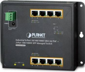 Switch Planet Industrial WGS-4215-8P2S 8-Port Gigabit PoE + 2-Port SFP Switch uri
