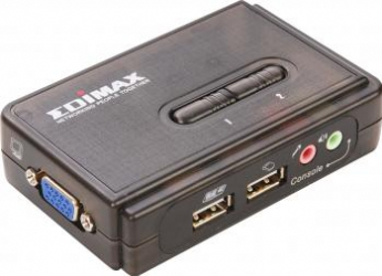 Switch KVM 2 Porturi USB Edimax EK-UAK2 Switch uri KVM