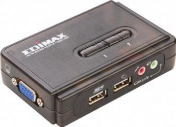 Switch KVM 2 Porturi USB Edimax EK-UAK2 Switch uri KVM