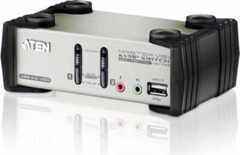 Switch KVM Aten CS1732B 2-Port USB Gri Switch uri KVM