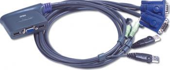 Switch KVM Aten CS62U 2 porturi USB Switch uri KVM