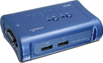 Switch KVM TRENDnet TK-207K 2 porturi USB