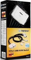 Switch KVM TRENDnet TK-217i 2 porturi USB