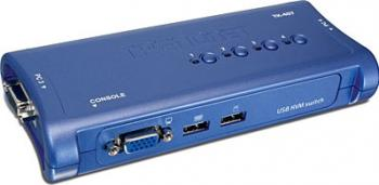 Switch KVM TRENDnet TK-407K 4 porturi USB