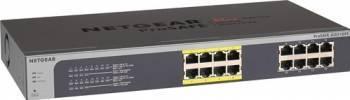 Switch Netgear ProSafe Plus 16-Port 8xPOE Gigabit 85W JGS516PE Switch uri