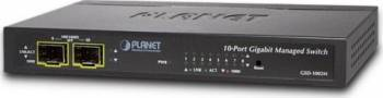Switch Planet GSD-1002M 8 Gigabit Port + 2 SFP Port Switch uri