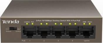 Switch Tenda TEF1105P-4-63W PoE 5-Port Fast Ethernet Switch uri