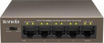 Switch Tenda TEF1105P-4-63W PoE 5-Port Fast Ethernet Switch uri