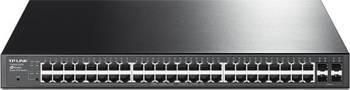 Switch TP-Link T1600G-52PS 48-Porturi Gigabit Smart PoE+ cu 4 sloturi SFP individuale Switch uri