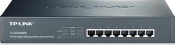 Switch TP Link TL-SG1008PE 8 porturi Gigabit PoE