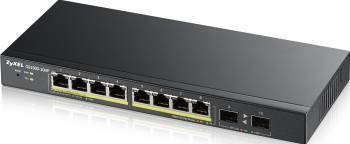 Switch ZyXEL Gigabit GS1900-10HP 8 porturi Black Switch uri