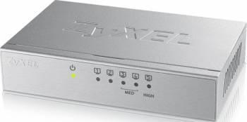 Switch ZyXEL GS-105B V3 5 porturi Gigabit Silver Switch-uri