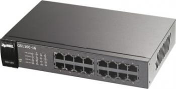 Switch ZyXEL GS-1100-16 16 porturi Gigabit Switch uri