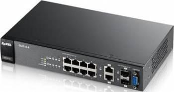 Switch ZyXEL GS2210-8 8-port Gigabit Ethernet 2-port Combo Gigabit Switch uri