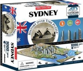 SYDNEY Puzzle 4D Cityscape Jucarii Interactive