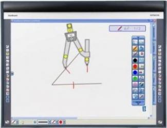 Tabla / Ecran interactiv HITACHI StarBoard Ecrane Proiectie