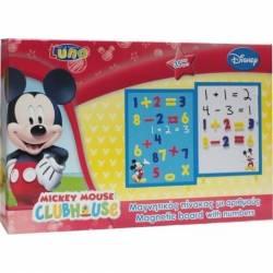 Tabla magnetica cu numere Mickey + 3 ani Multicolor Mobila si Depozitare jucarii