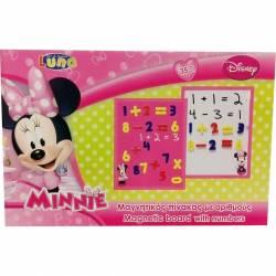 Tabla magnetica cu numere Minnie + 3 ani Multicolor Mobila si Depozitare jucarii