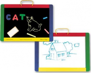 Tabla magnetica si de scris cu litere Melissa and Doug Jucarii