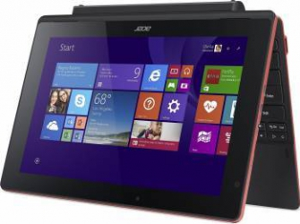 Tableta Acer Switch 10 SW3-013 Z3735F 64GB Wi-Fi Windows 8.1 Red