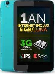 Tableta Allview Viva H7 Life 8GB 3G Black-Blue+Internet Gratuit