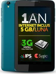 Tableta Allview Viva H7 Life 8GB 3G Black-Green+Internet Gratuit