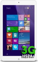 Tableta Allview Wi8G Z3735G 16GB 3G Windows 8.1 White Resigilat