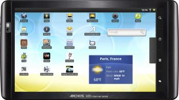 imagine Tableta Archos 101 IT 16GB 1GHz Android 2.2 501594