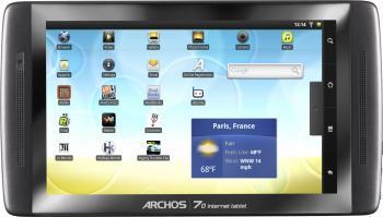 imagine Tableta Archos 70 IT 8GB 1GHz Android 2.2 arc70it8gb