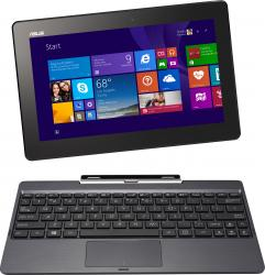 Tableta ASUS Transformer Book T100TAM Z3775 64GB + 500GB Windows 8.1 Bing Gray