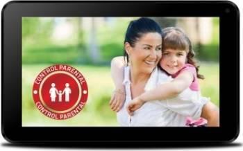 Tableta Evolio EvoTabby 8GB WiFi Android 4.4 Black + Husa Galbena