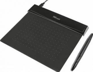 Tableta grafica Trust 21259 Flex Design Tablet Black Tablete Grafice