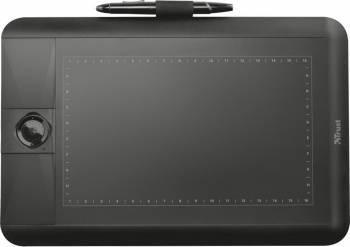 Tableta Grafica Trust Panora Widescreen Neagra Tablete Grafice