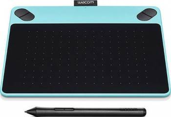 Tableta grafica Wacom Intuos Art Medium North Albastra Tablete Grafice