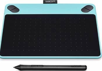Tableta grafica Wacom Intuos Comic Pen and Touch Small Blue Tablete Grafice
