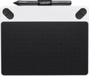 Tableta grafica Wacom Intuos Draw Pen Small Alba Tablete Grafice