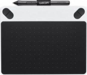 Tableta grafica Wacom Intuos Draw Pen Small Alba