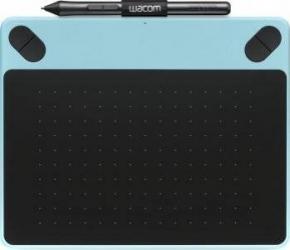 Tableta grafica Wacom Intuos Draw Pen Small Albastra Tablete Grafice