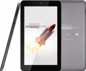Tableta Smailo Titanius 8GB Wi-Fi Android 4.4 Silver Resigilat