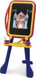 Tablita de desenat cu 2 fete Grown Up reglabila pe inaltime cu accesorii incluse Jucarii de exterior