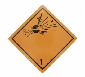 Tablita placa avertizare marcaj ADR 1 Cargoparts Scule auto and Accesorii