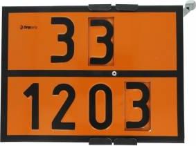 Tablita placa avertizare marcaj ADR 301203 Cargoparts 30x40 cm Scule auto and Accesorii