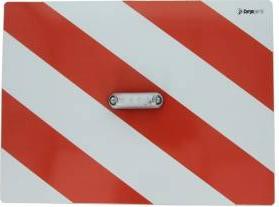 Tablita placa reflectorizanta avertizareinformare cu LED alb 40x30 cm Cargoparts Scule auto and Accesorii