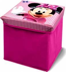 Taburet si cutie depozitare jucarii Disney Minnie Mouse Mobila si Depozitare jucarii